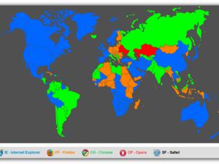 A guerra dos Browsers a nível planetário – Fevereiro/2012