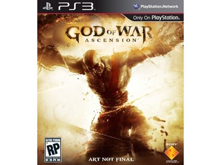 Imagem mostra a capa do novo jogo God of War: Ascension