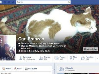 Facebook testa nova versão da Linha do Tempo
