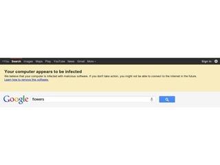 Google alertará usuários infectados com software malicioso