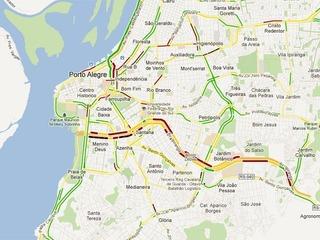 Google Maps amplia cidades brasileiras com trânsito em tempo real