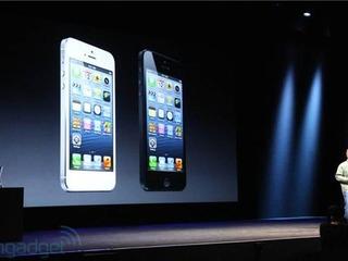 Apple anuncia o iPhone 5