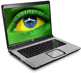 Brasil é o terceiro país do mundo em número de usuários ativos de internet