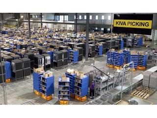 Amazon usa 15 mil robôs para agilizar entregas durante o fim de ano