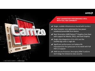 AMD anuncia APU Carrizo na CES 2015