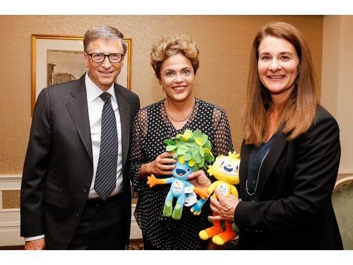 Bill Gates nega ação contra Petrobras e pede desculpas a Dilma