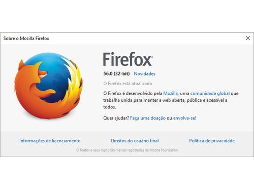 Mozilla lança o Firefox 56