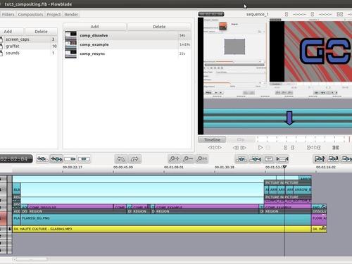 Flowblade, editor de vídeo que promete oferecer uma experiência rápida, precisa e robusta