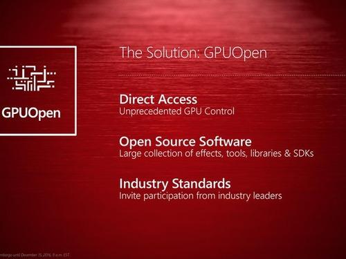 AMD abre as portas dos GPUs com o GPUOpen