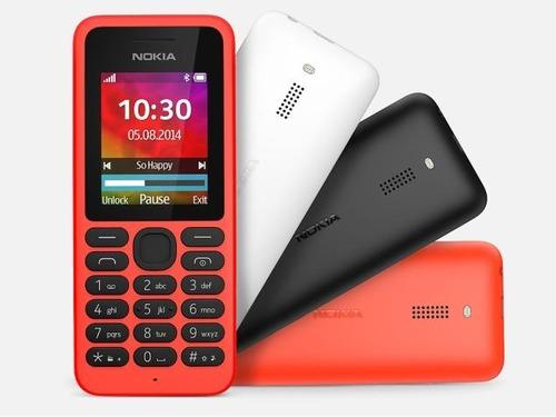 Novos celulares tradicionais Nokia 105 e 130 chegam com bateria que dura até 1 mês