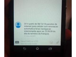 Oi passa a cortar internet após o fim da franquia de dados do celular
