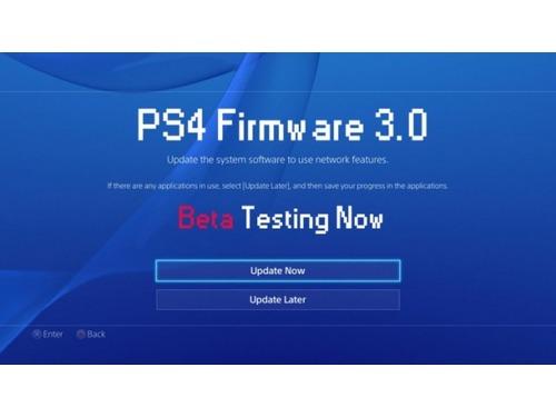 Sony anuncia abertura de cadastros para participar da beta do próximo firmware do PS4
