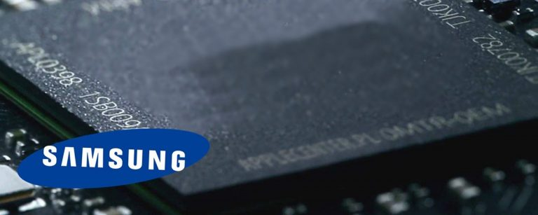 Samsung Electronics desenvolve o menor chip DRAM do mundo