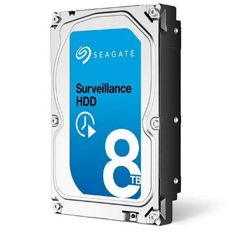 Seagate lança seu Surveillance HDD com 8TB
