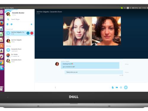 Nova versão do Skype para Linux agora possui suporte inicial para videochamadas