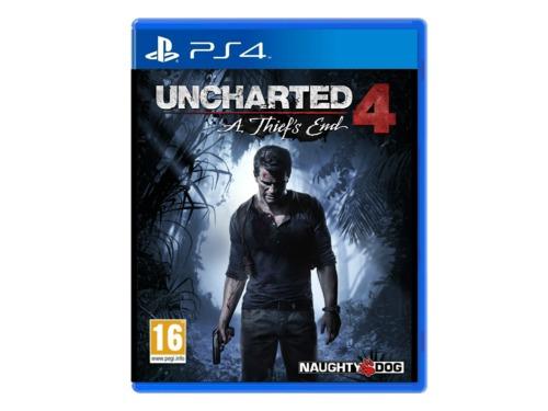 Ladrões roubaram cópias de Uncharted 4