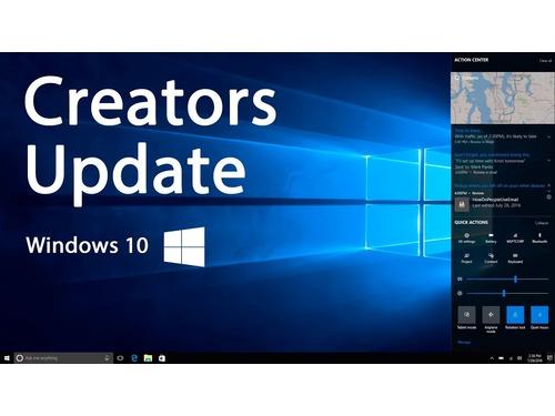 Microsoft não recomenda a instalação manual do Creators Update