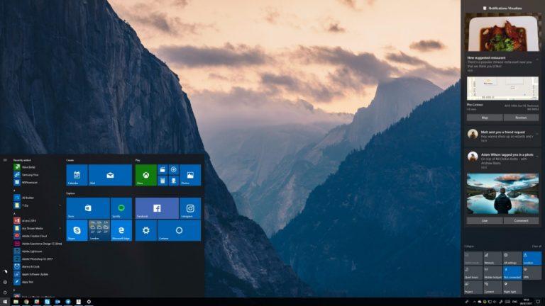Fall Creators Update do Windows 10 está em mais de 90% dos computadores