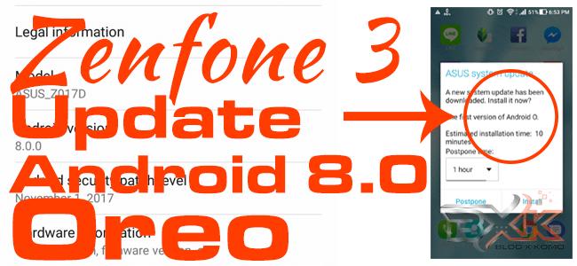 Asus Zenfone 3 começa a receber atualização para o Android Oreo