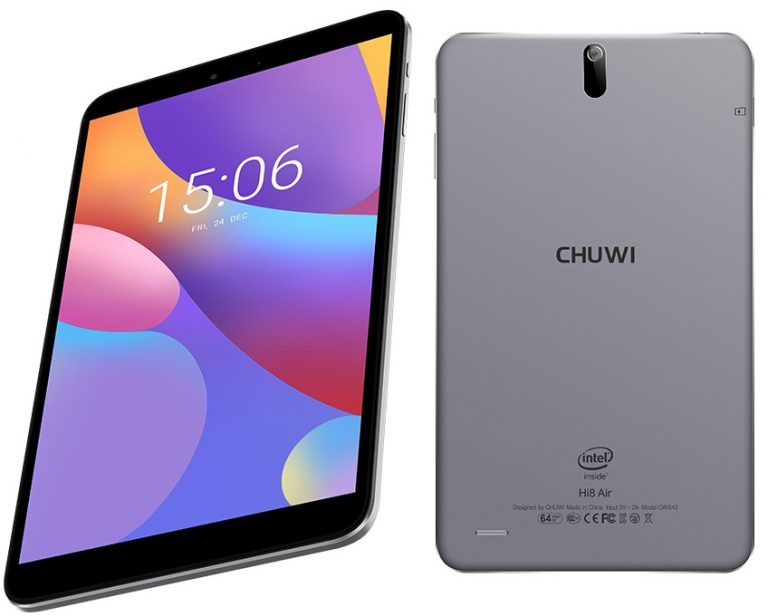 Chuwi anuncia o Hi8 Air, tablet que roda Windows 10 e Android