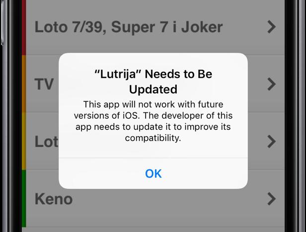 Apple está alertando usuários que apps 32 bits deixarão de funcionar