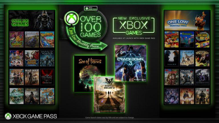 Exclusivos do Xbox One chegarão ao Game Pass no dia do lançamento