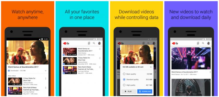 YouTube Go, que permite baixar vídeos para ver offline, chega ao Brasil