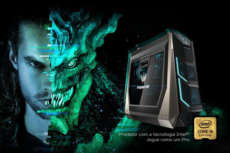 Acer lança novo PC gamer monstro com 18 cores e quad-GPU