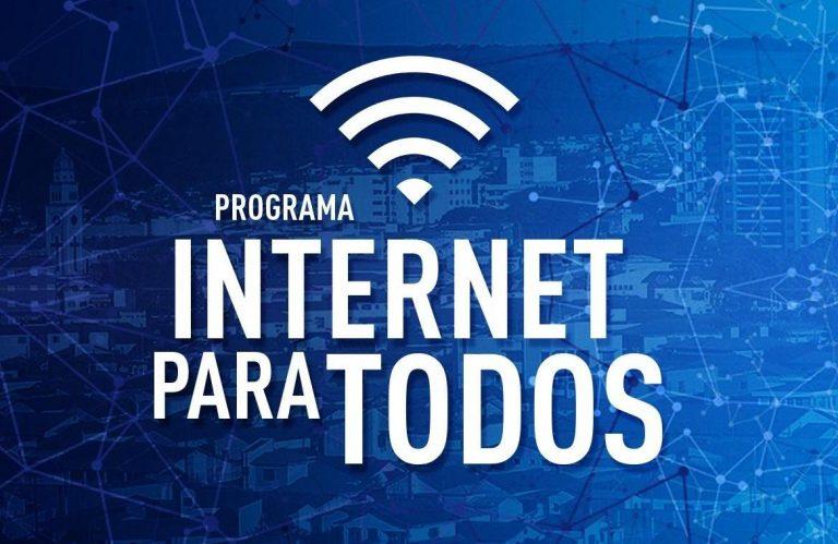 Internet para Todos tem adesão de 70% dos municípios brasileiros