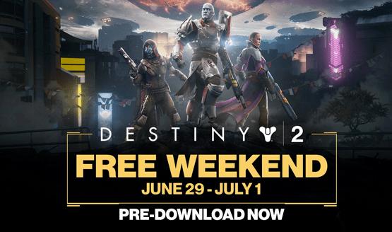 Destiny 2 terá fim de semana gratuito no PS4 e o preload já está liberado