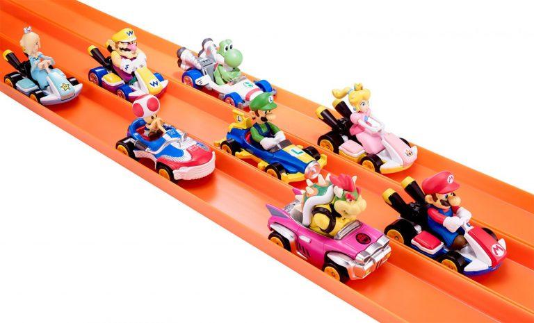 Hot Wheels anuncia linha de Mario Kart