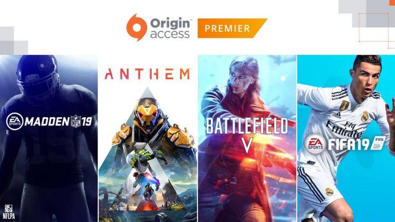 Origin Access Premier chega no PC em 30 de julho
