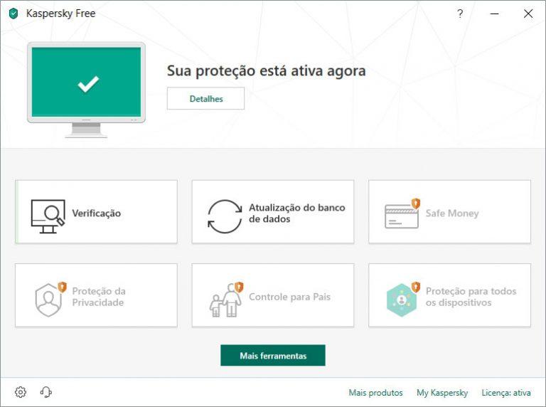 Kaspersky Free 2019 já está disponível em português brasileiro