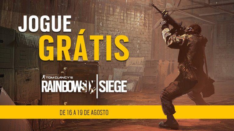 Rainbow Six Siege poderá ser jogado de graça até 20 de agosto