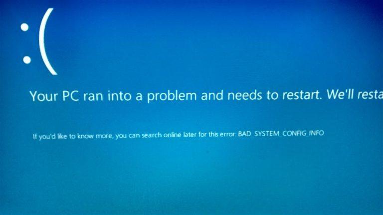 Atualização KB4462919 para o Windows 10 v1803 causa BSOD em PCs da HP