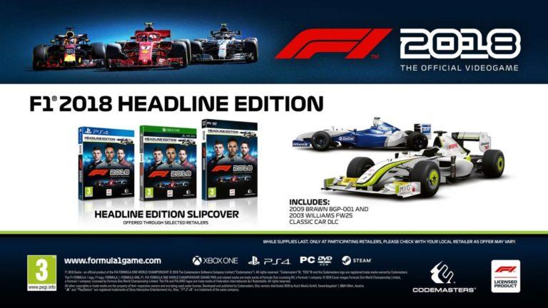 F1 2018 – Patch 1.15