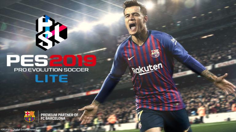 PES 2019 grátis é lançado com quatro modos de jogo disponíveis