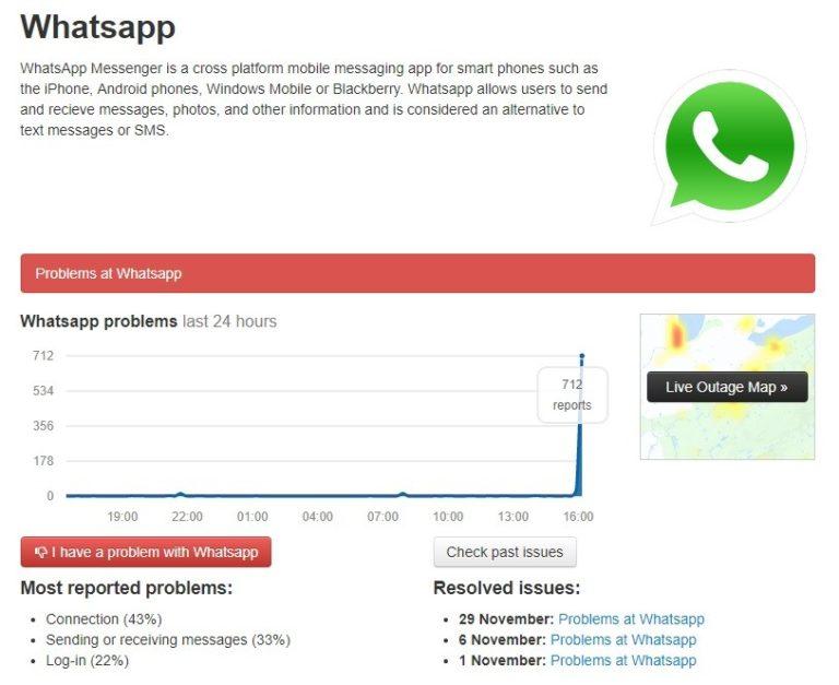 📱 WhatsApp passa por instabilidades e usuários vão a loucura