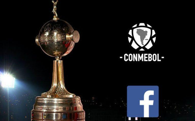 Times poderão transmitir seus jogos da Libertadores no Facebook