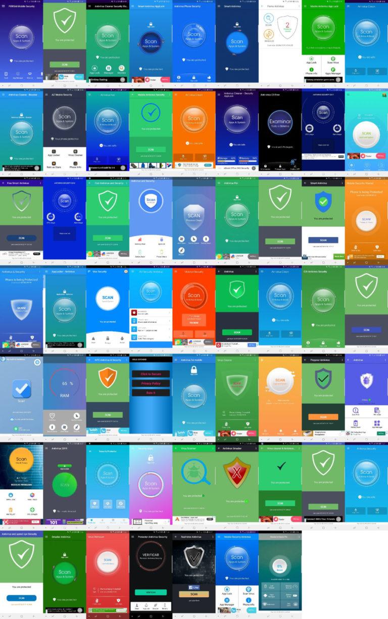 🔓 Maioria de antivírus para Android não funciona