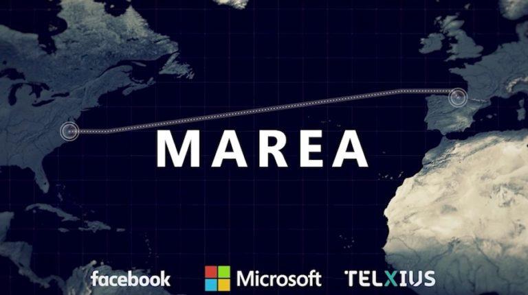 Cabo submarino de Facebook e Microsoft quebra novo recorde de velocidade