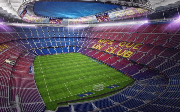 Barcelona terá o primeiro estádio com 5G da Europa