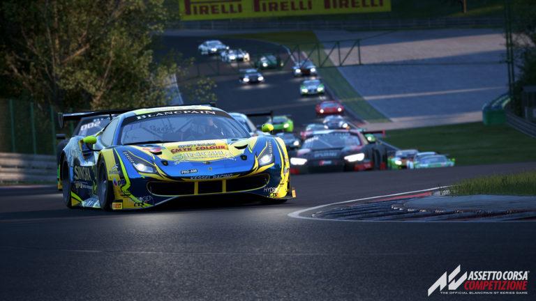 Versão 1.0.2 do Assetto Corsa Competizione já esta disponível; Confira as mudanças