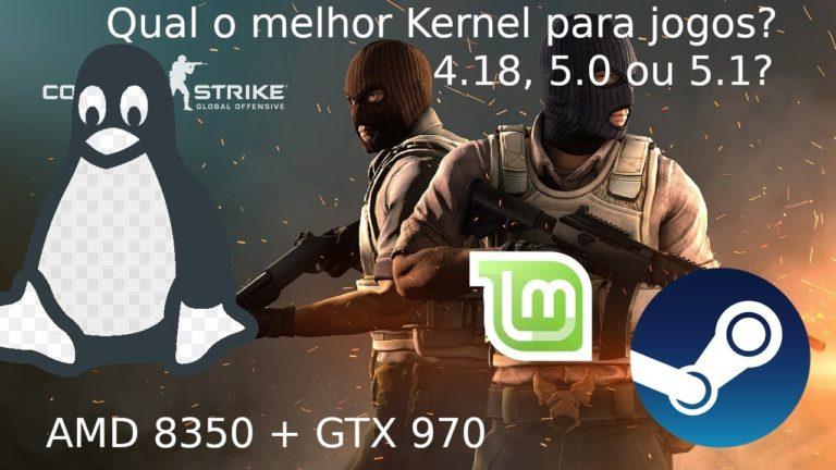 🐧 Linux: Qual o Kernel mais rápido para jogos?? 4.18, 5.0 ou 5.1?? Counter-Strike: Global Offensive
