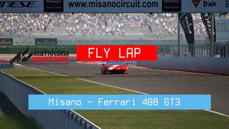 Assetto Corsa Competizione – Volta Rápida – Misano – Ferrari 488 GT3
