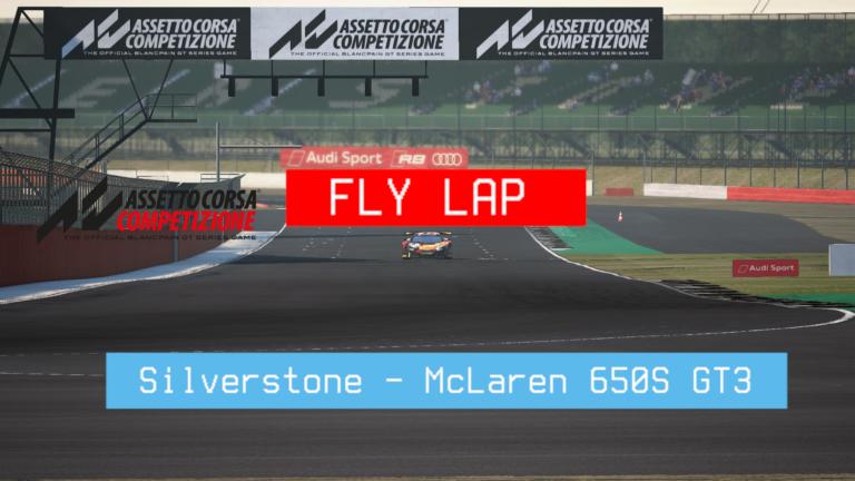 🎮 Assetto Corsa Competizione – Volta Rápida – Silverstone – McLaren 650S GT3