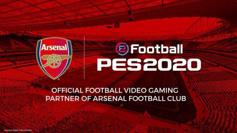 🎮 Arsenal renova acordo com Konami até 2022