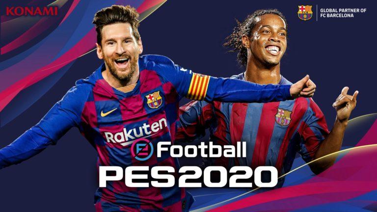 🎮 eFootball PES 2020 é anunciado pela Konami