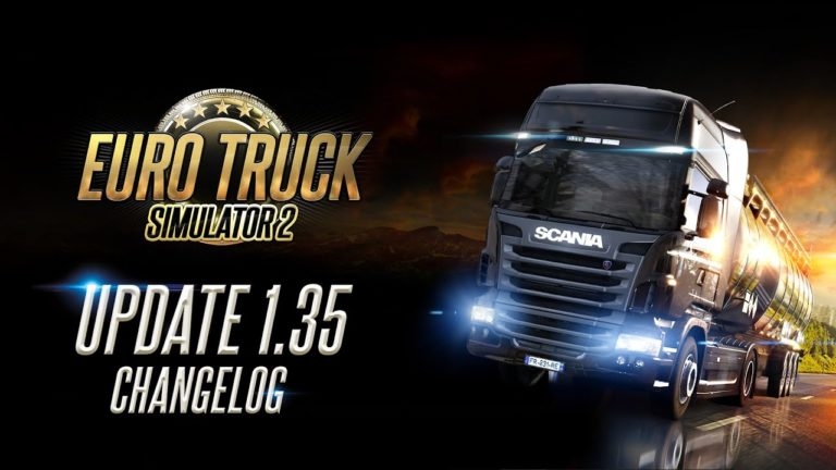 🎮 Euro Truck Simulator 2 recebe Update 1.35