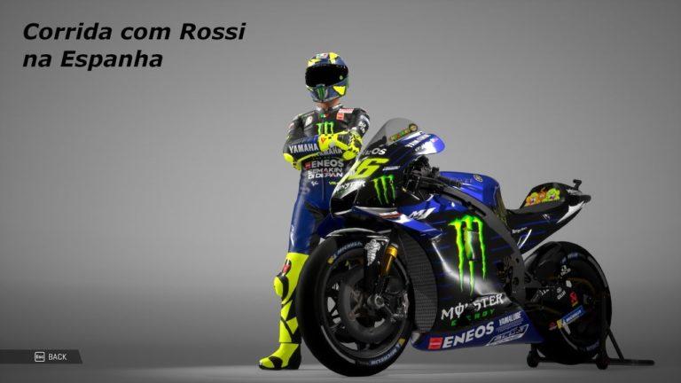 🎮 MotoGP 2019 acompanhe uma corrida com Valentino Rossi na Espanha
